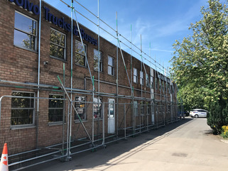 Scaffolding Commercial Job